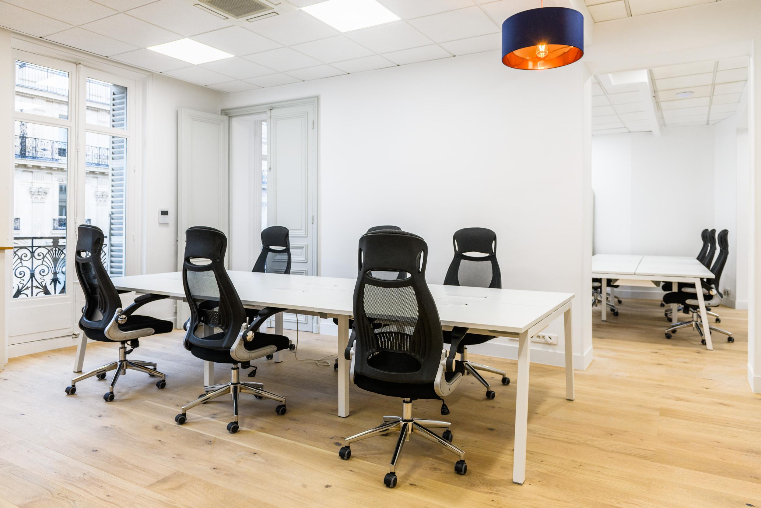 Bureaux SnapDesk à Bourse - Paris